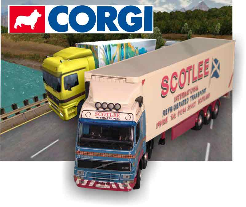 CorgiToys Hauliers of Renown collectables 1:50