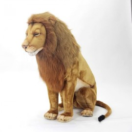 Lion sitting 110 cm high