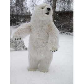 Standing  polarbear 85 cm high
